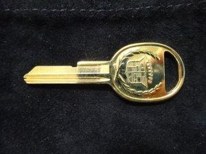 画像2: キャデラック ゴールド スペアキー H ブランクキー 新品 NOS ブロアム フリートウッド セビル等