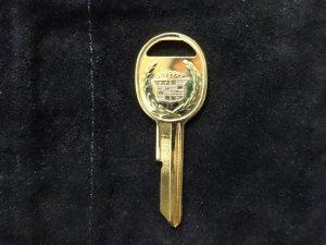 画像4: キャデラック ゴールド スペアキー H ブランクキー 新品 NOS ブロアム フリートウッド セビル等